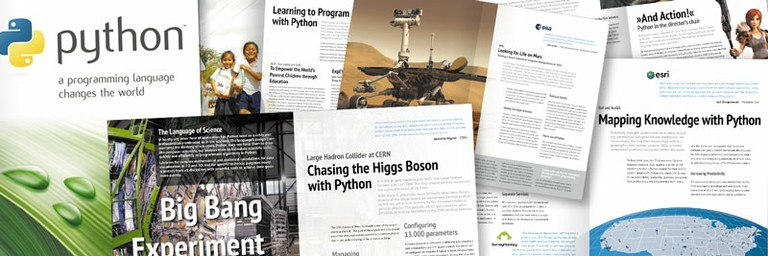 A preview of Python's brochure